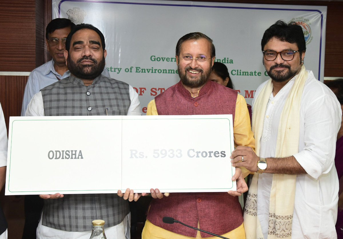 Bikashakhabara:odisha-got-5933-crore-in-campa-fund