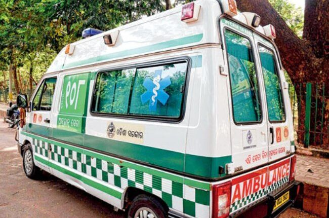 Bikashakhabara:reach-first--of-Mayurbhanj-in-ambulance-service-Anugol-tops-to-takes--Janani-Expressservice