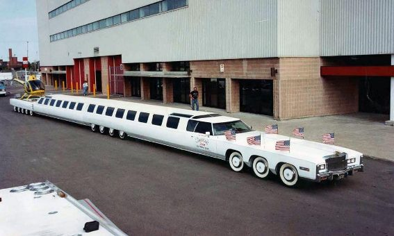 Bikashakhabara:Worlds-longest-car